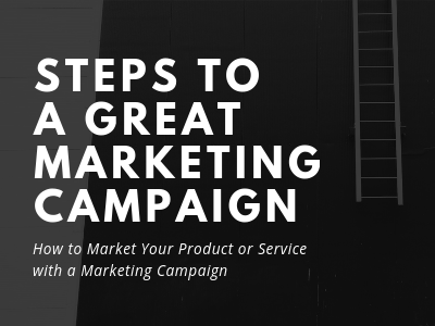 marketing campaign steps
